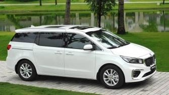 Gia xe KIA Sedona 2019 tai Viet Nam tu 1,129 ty dong - 3 phien ban