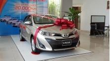 Khuyen mai mua xe Toyota Vios cuoi nam 2018