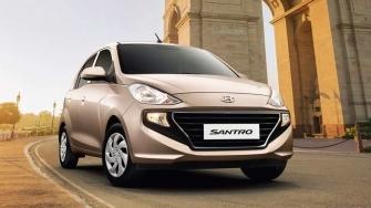 Xe co nho Hyundai Santro 2019 gia re hon Grand i10, Morning