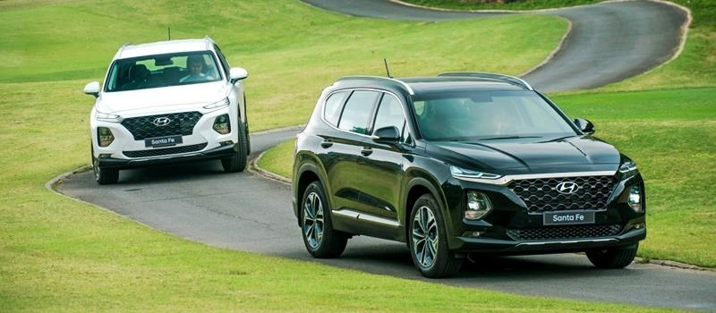 Chi tiet xe Hyundai SantaFe 2019 ban cao cap Premium tai Viet Nam
