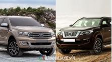 So sanh xe Ford Everest va Nissan Terra 2019 tai Viet Nam