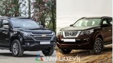 So sanh xe Chevrolet Trailblazer va Nissan Terra 2019 tai Viet Nam