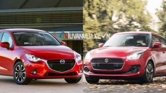 So sanh xe Mazda 2 2019 va Suzuki Swift 2019 tai Viet Nam