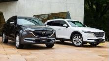 SUV 7 cho Mazda CX-8 2019 hoan toan moi - doi thu Hyundai SantaFe