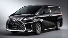 Xe MINIVAN Lexus LM - 4 cho Royal Lounge va 7 cho Executive Lounge