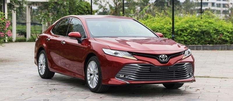 Hinh anh chi tiet xe Toyota Camry 2019 nhap Thai tai Viet Nam