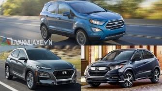 Mua xe SUV gam cao chay pho - chon EcoSport, Kona hay HR-V