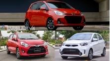 Mua xe nho do thi - chon Hyundai i10, KIA Morning hay Toyota Wigo