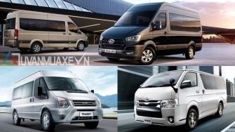 Mua xe 16 cho - chon Ford Transit, Hyundai Solati hay Toyota Hiace