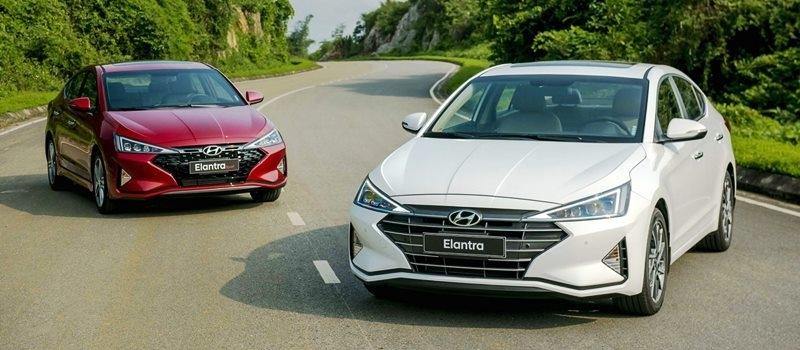 Gia xe Hyundai Elantra 2019 tai Viet Nam tu 580 trieu dong