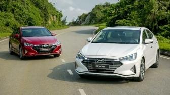Thong so ky thuat va trang bi xe Hyundai Elantra 2019 tai Viet Nam