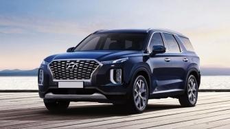 Xe 7 cho Hyundai Palisade canh tranh voi Ford Explorer