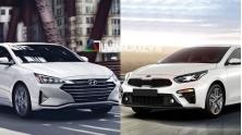 So sanh xe Hyundai Elantra 2019 va KIA Cerato 2019 phien ban 1.6L