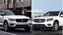 So sanh xe Mercedes GLC va Volvo XC40 2019 tai Viet Nam
