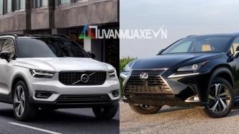 So sanh xe Lexus NX300 2019 va Volvo XC40 2019 tai Viet Nam