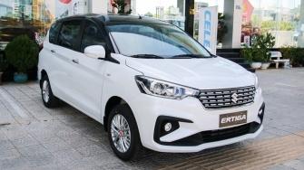 So sanh khac biet giua hai phien ban Suzuki Ertiga 2019 - GL va GLX