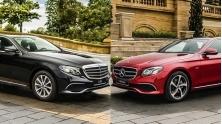 So sanh khac biet giua Mercedes E200 va E200 Sport moi tai Viet Nam