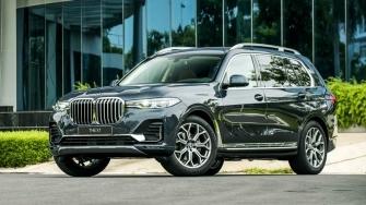 Chi tiet thong so va trang bi xe BMW X7 xDrive40i 2019 tai Viet Nam