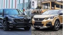 So sanh xe VinFast LUX SA2.0 va Peugeot 5008 2019 tai Viet Nam