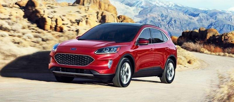 Chi tiet SUV 5 cho Ford Escape 2020 hoan toan moi