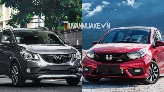 So sanh xe VinFast Fadil va Honda Brio 2019 tai Viet Nam