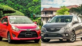 So sanh xe VinFast Fadil 2019 va Toyota Wigo 2019
