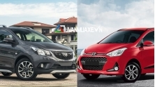 So sanh xe VinFast Fadil 2019 va Hyundai Grand i10 2019