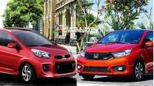 So sanh xe KIA Morning 2019 va Honda Brio 2019 tai Viet Nam
