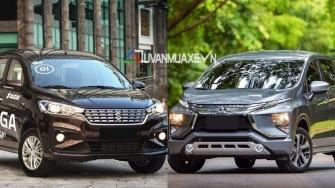 So sanh xe Suzuki Ertiga 2019 va Mitsubishi Xpander 2019