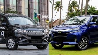 So sanh xe Suzuki Ertiga 2019 va Toyota Avanza 2019 moi tai Viet Nam