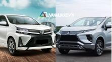So sanh xe Toyota Avanza 2019 va Mitsubishi Xpander 2019