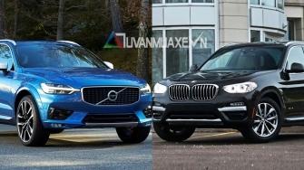 So sanh xe Volvo XC60 2019 va BMW X3 2019 tai Viet Nam