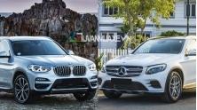 So sanh xe BMW X3 2019 va Mercedes GLC 2019 tai Viet Nam