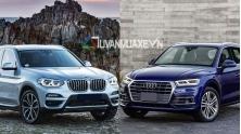 So sanh xe BMW X3 2019 va Audi Q5 2019 ban cao cap