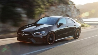 Xe coupe 4 cua Mercedes CLA 2020 the he moi