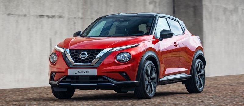 SUV co nho the thao Nissan Juke 2020 the he moi