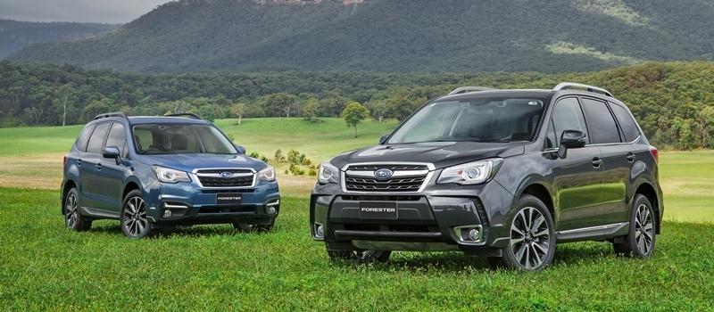Subaru Forester 2016 co gia ban 1,455 ty dong tai Viet Nam