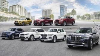 Tu van xe SUV BMW gam cao, gia xe BMW X1, X2, X3, X4, X5, X6, X7