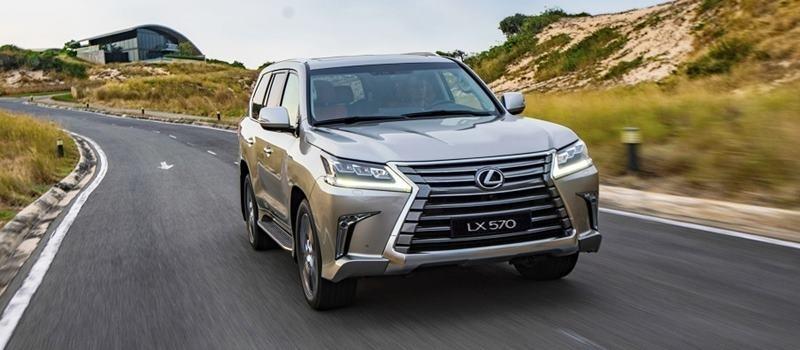 Gia ban xe Lexus LX 570 2020 tai Viet Nam tu 8,34 ty dong
