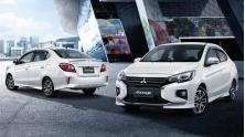 Xe sedan gia re Mitsubishi Attrage 2020 moi nang cap