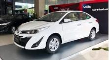 Toyota Vios 2020 moi nang cap trang bi ban tai Viet Nam
