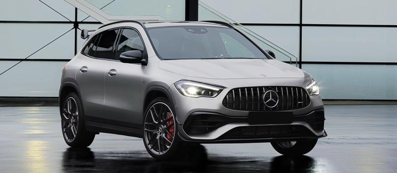 Xe SUV hieu suat cao Mercedes-AMG GLA 45 2021 the he moi