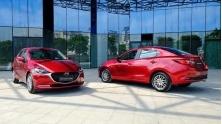 Gia ban xe Mazda 2 2020 moi nang cap tai Viet Nam tu 509 trieu dong