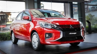 Gia ban xe Mitsubishi Attrage 2020 tai Viet Nam tu 375 trieu dong