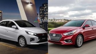 So sanh xe Mitsubishi Attrage 2020 va Hyundai Accent 2020