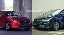 So sanh xe Mazda 2 2020 va Honda City o tam gia 600 trieu dong