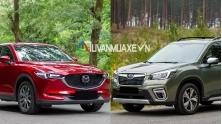 So sanh xe Mazda CX-5 2020 va Subaru Forester 2020
