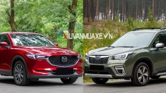 So sanh xe Mazda CX-5 2020 va Subaru Forester 2020