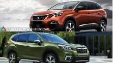 So sanh xe Peugeot 3008 2020 va Subaru Forester 2020 tai Viet Nam