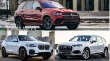 Mua xe Duc SUV 7 cho gia 4 ty - Mercedes GLE, BMW X5, Audi Q7